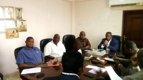 SLPP presidential aspirants and executives pondering the future of SLPP without Yumkella 1