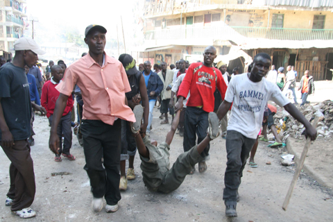 kenya election violence