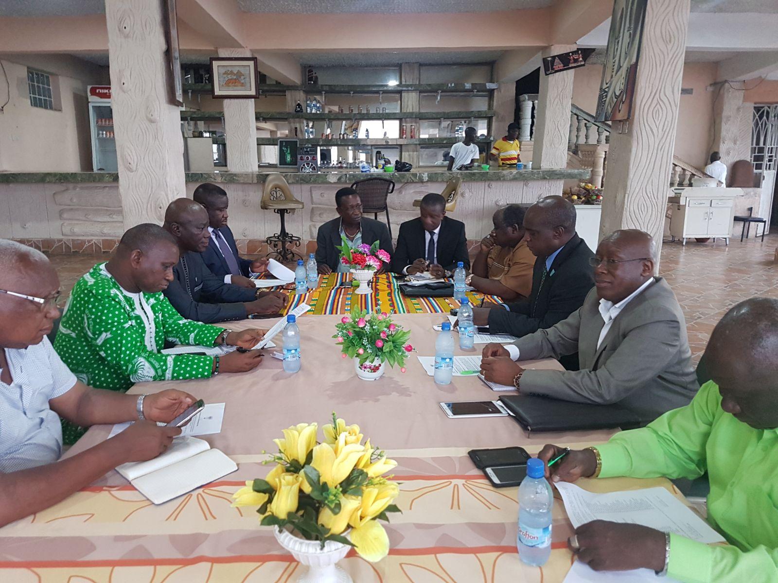 New SLPP chairman meets presidential aspirants