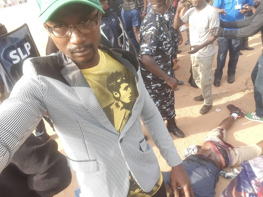 SLPP supporter shot dead 1