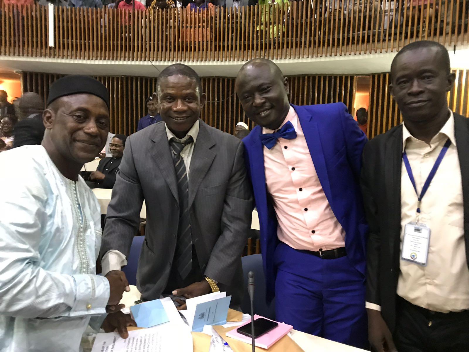 Yumkella and NGC in parliament 2