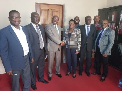 Dr Tengbe in talks with afdb