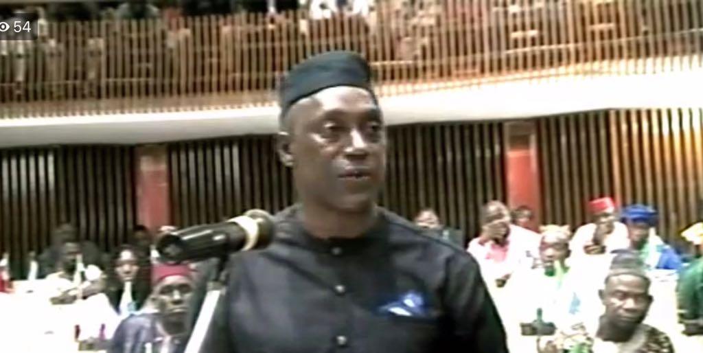 Yumkella in parliament 11