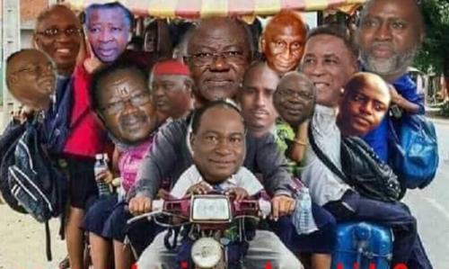 president koroma and his apc party leadership