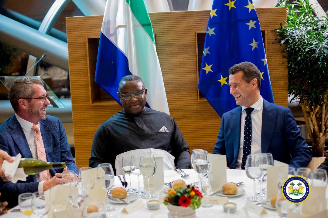 President Bio in Brussels 3