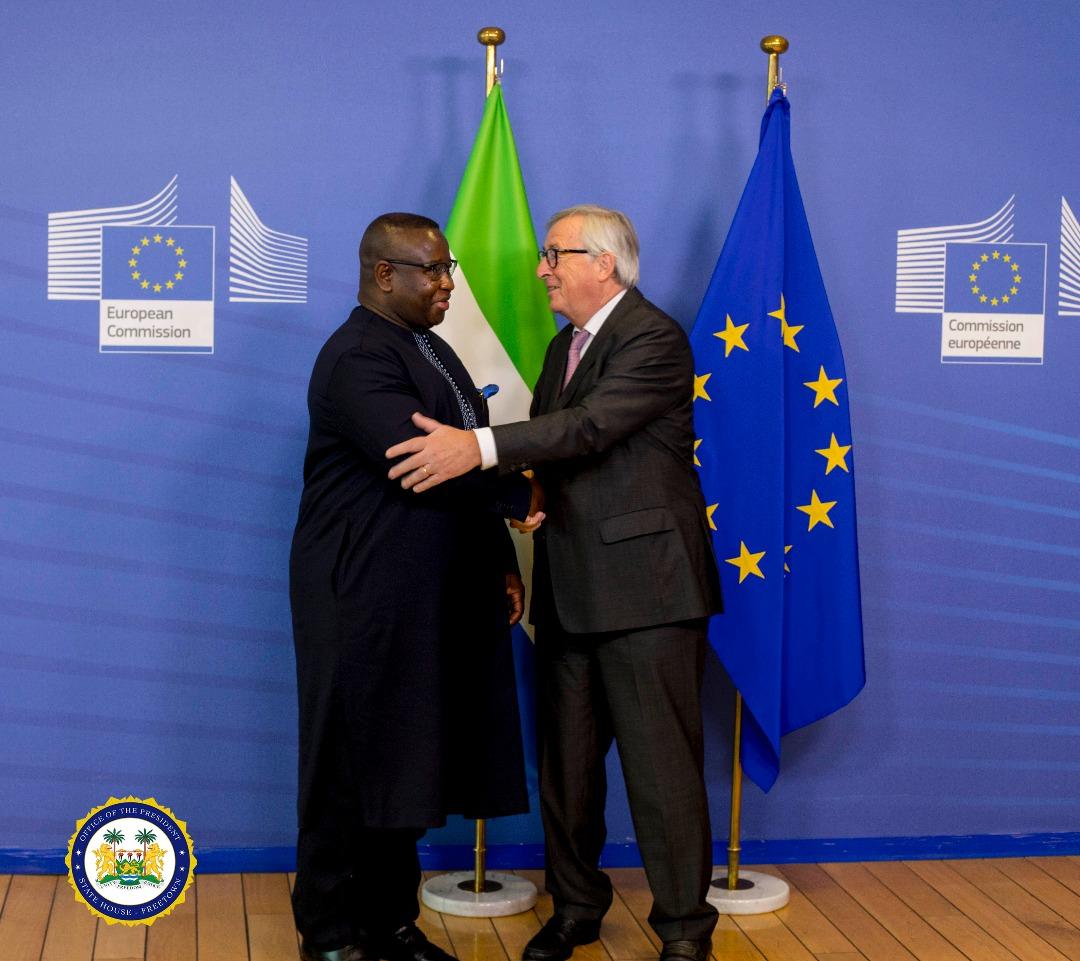 President Bio with European Commssion 1