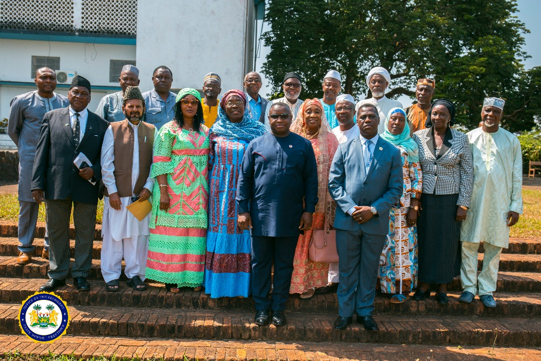 Muslim community supports president Bio