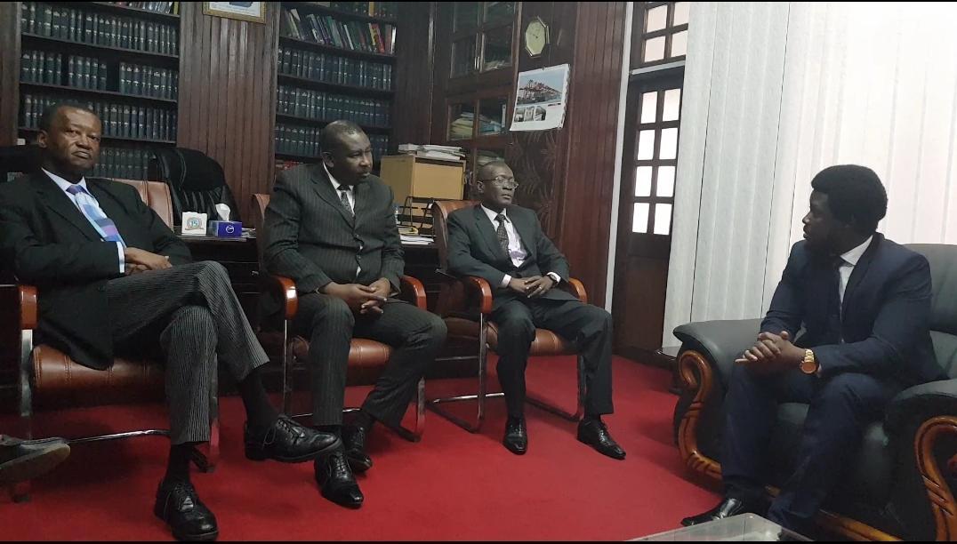 Ben kaifala meets new chief justice Edwards 2