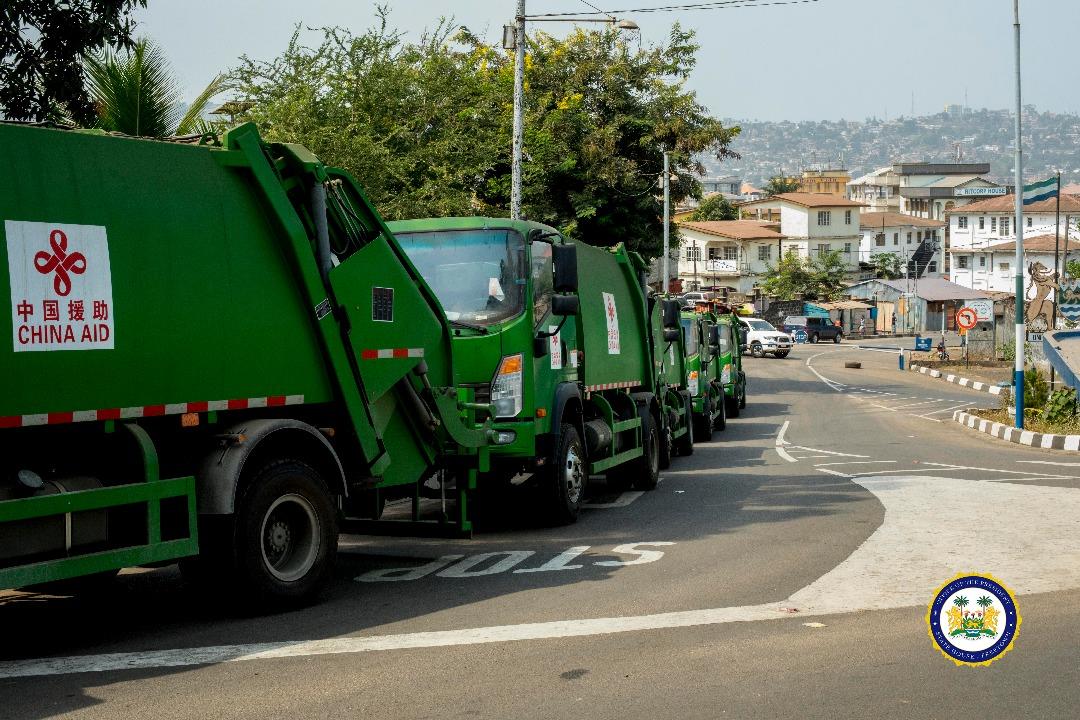 Garbage trucks arrive 3