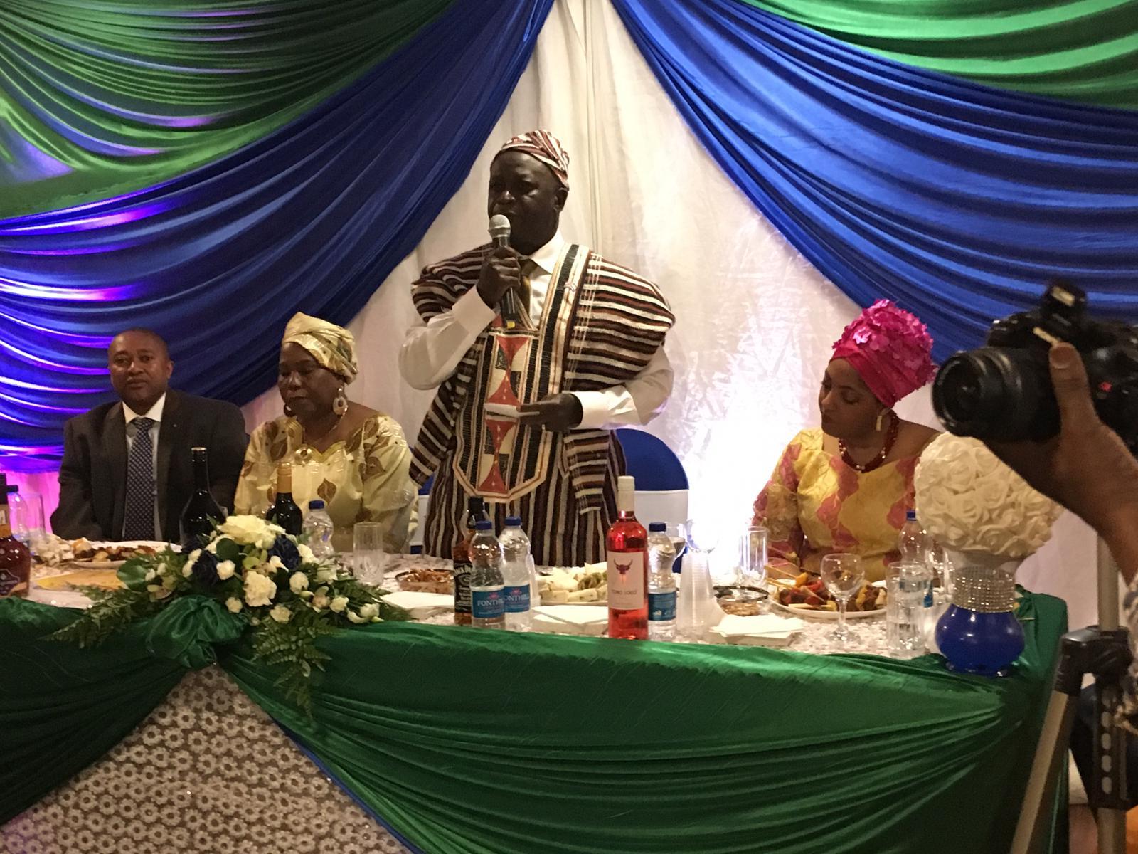 High Commissioner Lamina at kono event 1