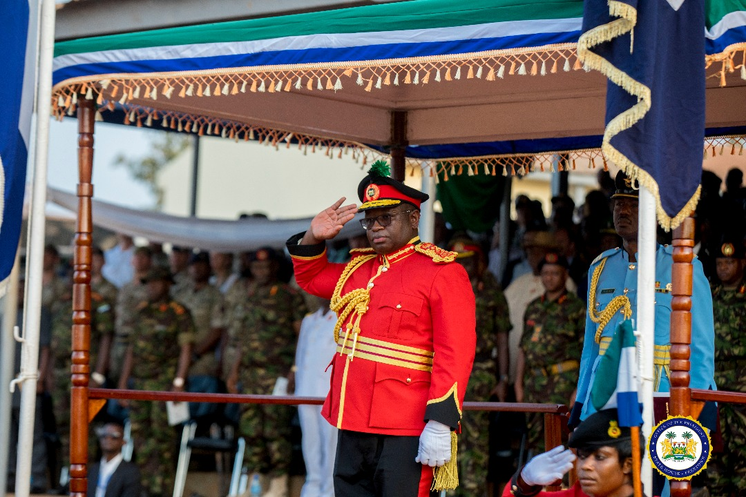 president Bio at armed forces day 2019 4