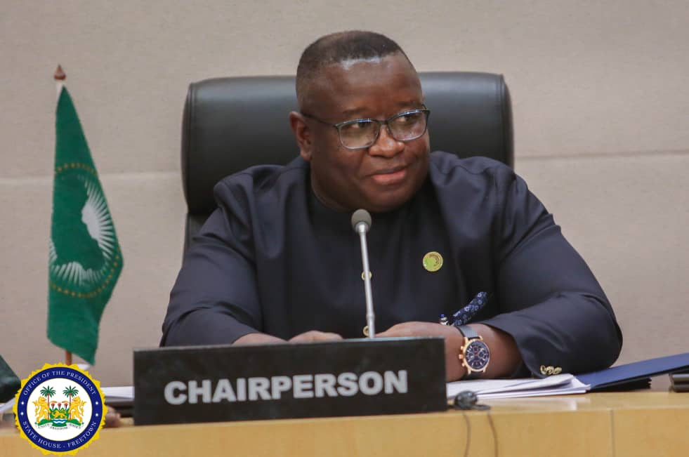president Bio at the AU – feb 2019 2