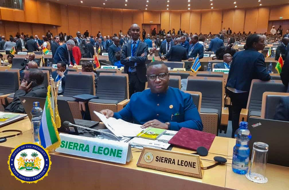 president Bio at the AU – feb 2019 4