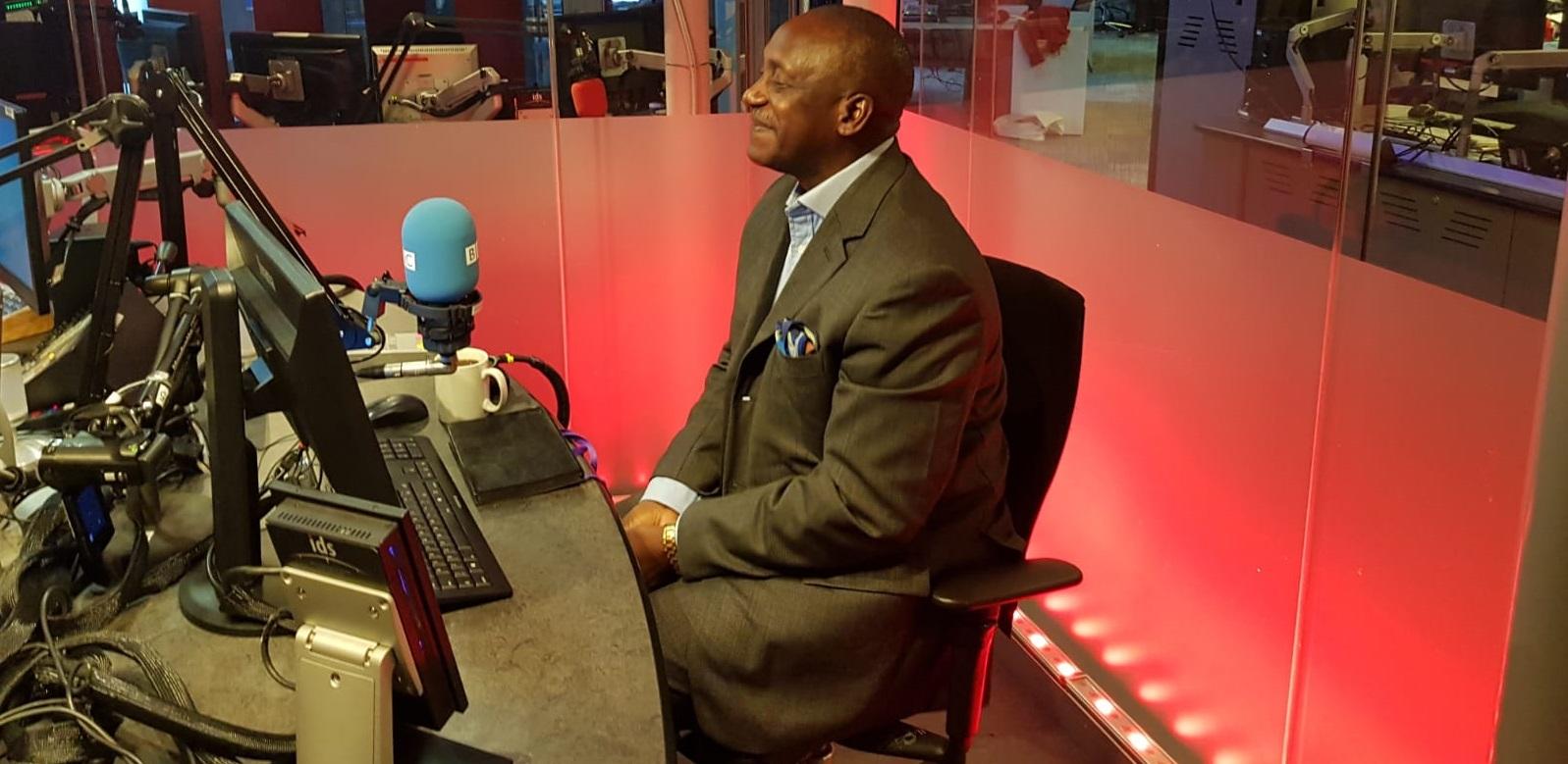 Dr Yumkella – UK 2018 2 – at the BBC2