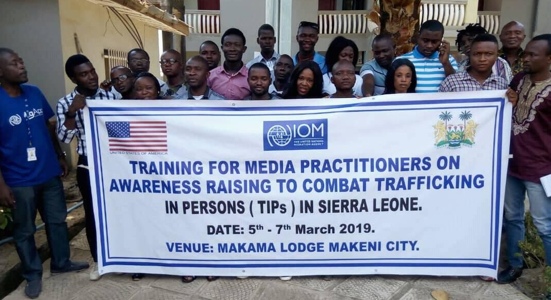 IOM TRAINING group picture 1