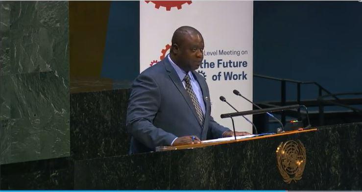 Adekunle King, Sierra Leone Minister of Labor & Social Security