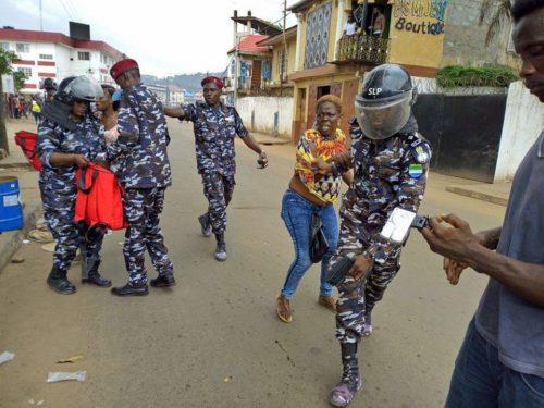 Rioting at APC office – 4