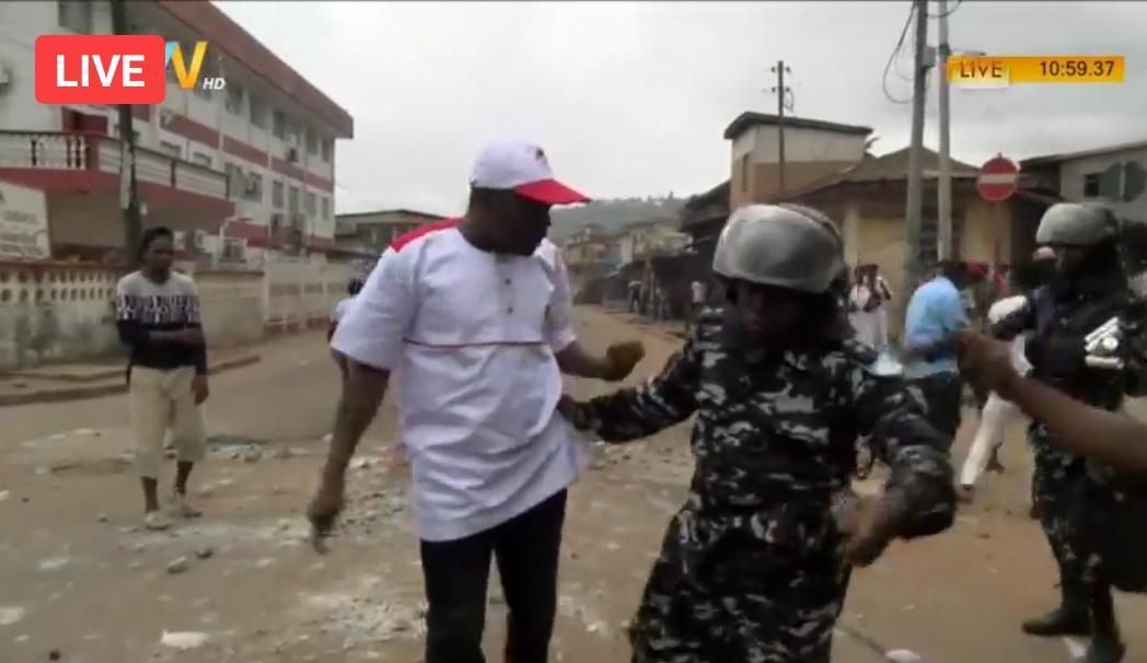 Rioting at APC office – 6