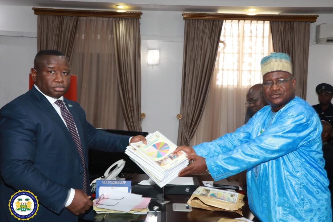 NEC Presents Annual Report to President Bio 2