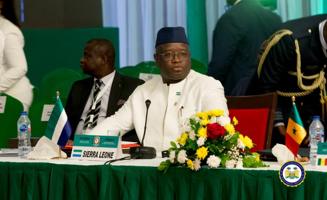 President Bio at ECOWAS – june 2019 2