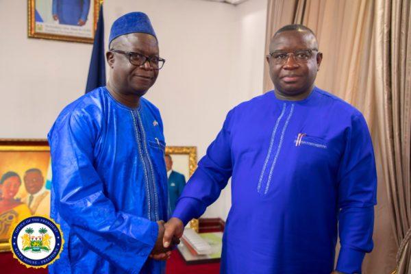 Tamba Lamina takes ministerial oath of office 4