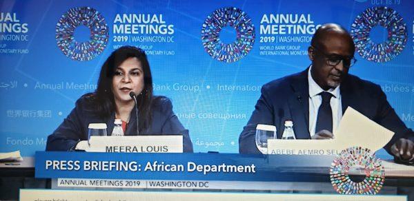 IMF Director of African Department – Abebe Aemro Selassie