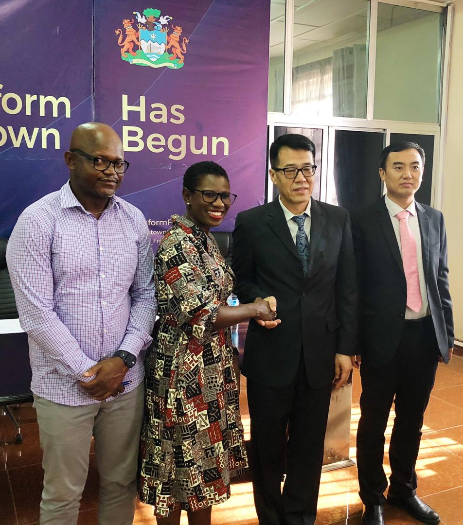 FCC receives donation from chinese embassy 2