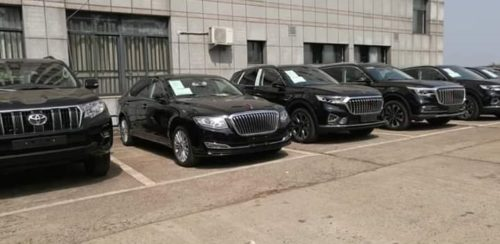 Sierra Leone receives million dollar luxurious VIP limousines from Chinese government 4
