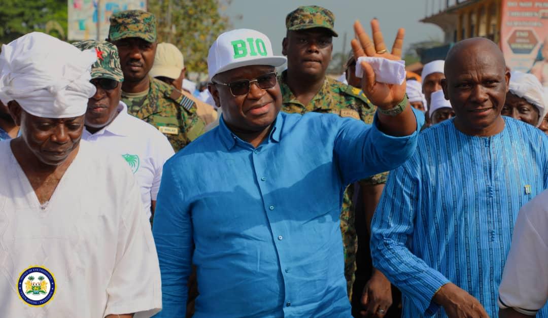 president Bio in Moyamba 2
