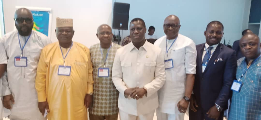 Chief minister Francis with some ministers at third retreat