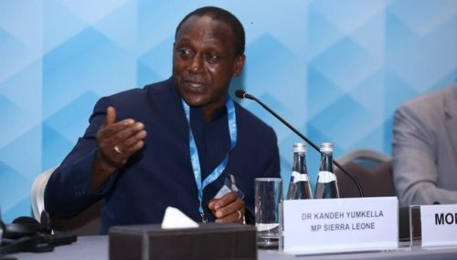Dr Yumkella at 10th Session of the IRENA General Assembly Jan 2020