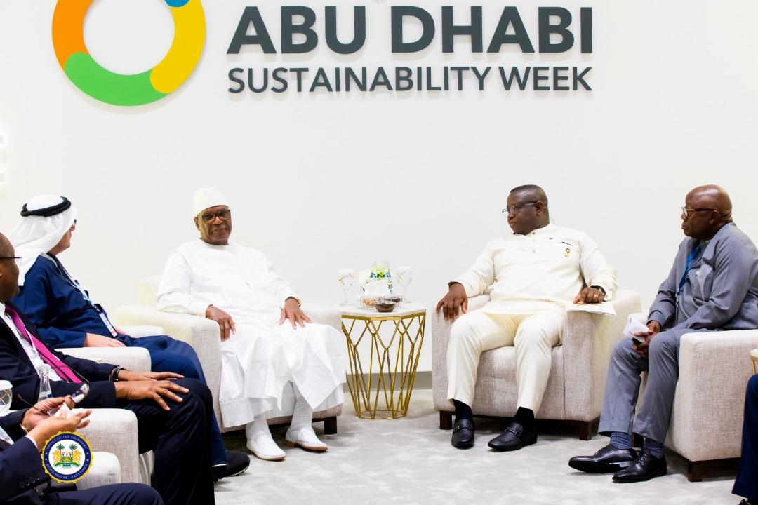 President Bio speaks in Abu Dhabi – Jan 2020 4
