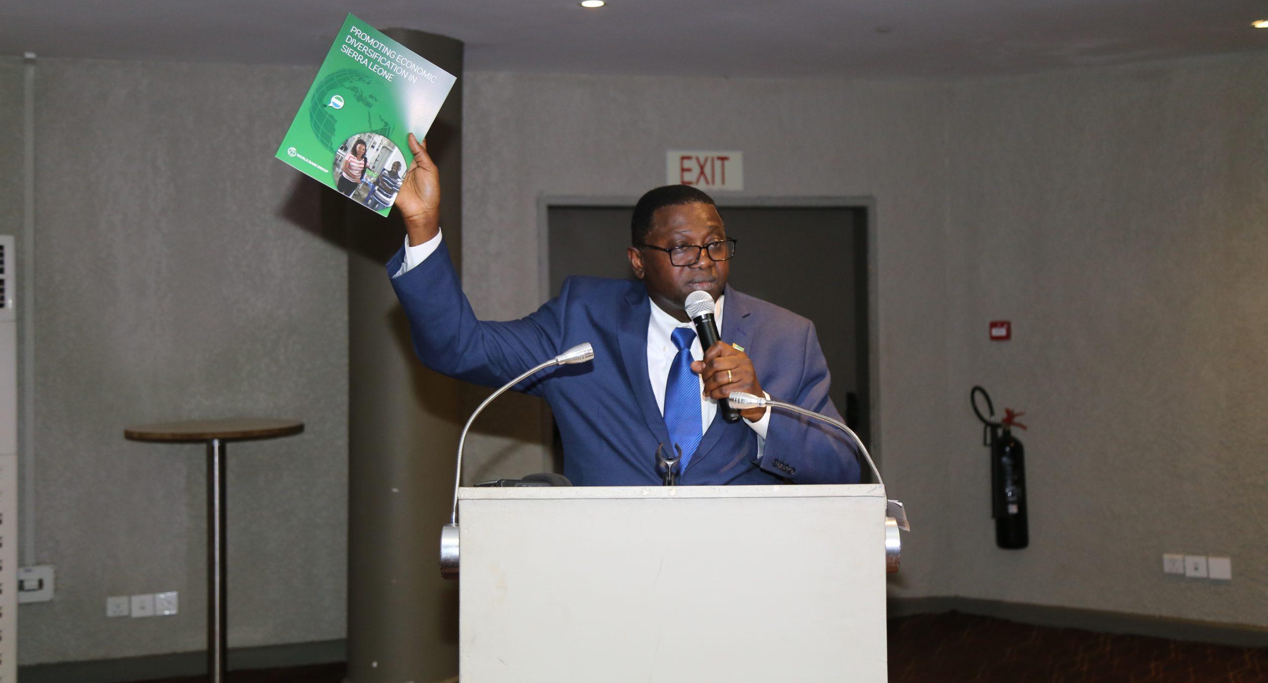 Sierra Leone Economic Diversification Study report launched – 13 jan 2020