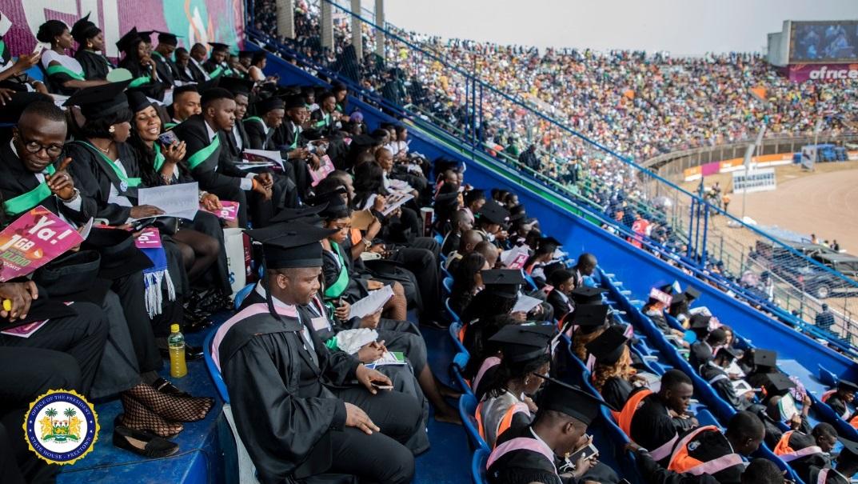 President Bio welcomes 2020 university graduates 1