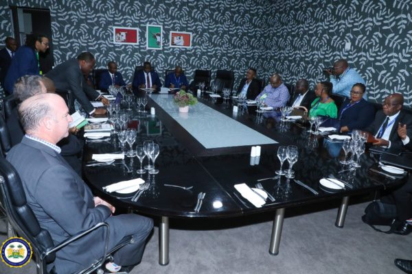 President Julius Maada Bio engages South African mines experts 3