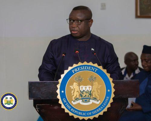 President Bio receives COI reports – 250320 3