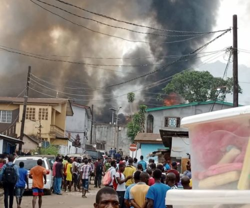 Rioting and shooting at Pademba road prison in Freetown