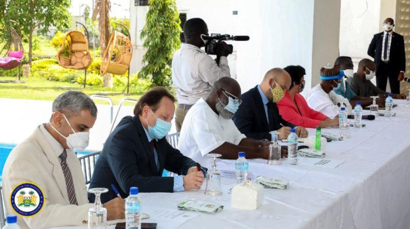 President Bio meets Diplomatic Community in Sierra Leone 3