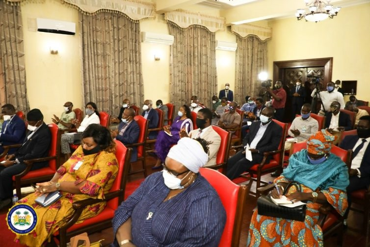President Bio meets civil society leaders to discuss recent violence and covid-19 -2