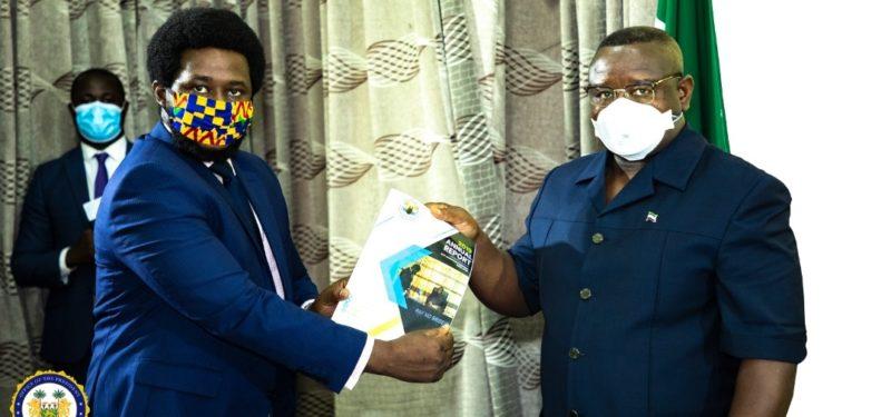 Anti-Corruption Commission presents 2019 report to president Julius Maada Bio 1