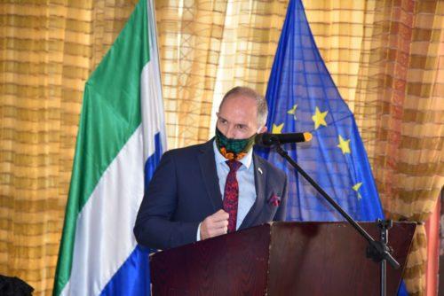 EU Ambassador Tom Vens