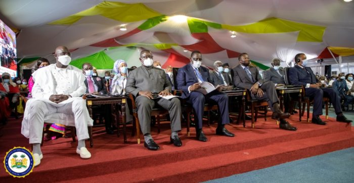 President Bio attends Ghana's President's swearing-in ceremony 4