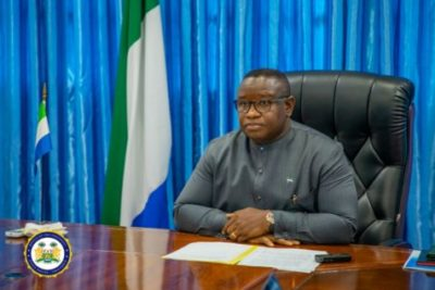 President Julius Maada Bio Participates in a High-Level Virtual Dialogue on Leveraging Innovations and Technology2