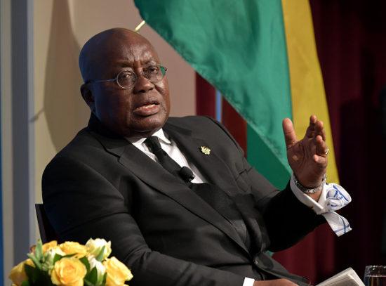 Ghana's president Akufo-Addo