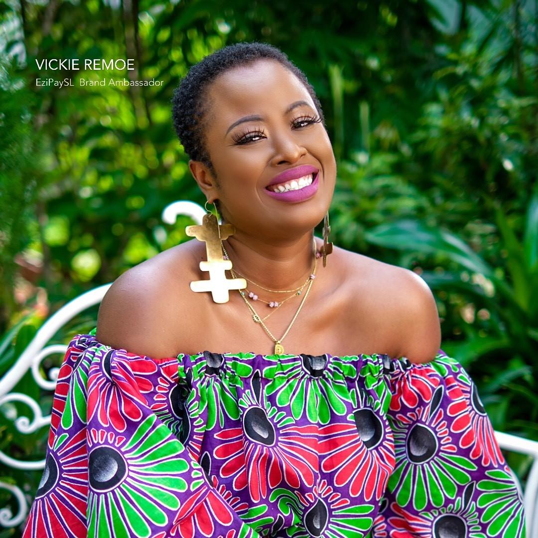 Vickie Remoe is EzipaySL Brand Ambassador