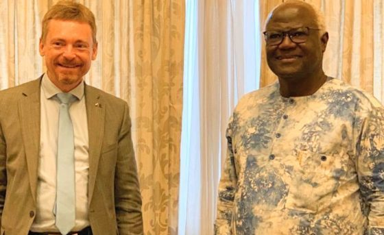 EU Ambassador holds consultative meeting with former President Koroma of Sierra Leone1