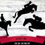 Eventing Horse Show Jockey Horse Svg Equestrian Svg Horseback Riding Show Horse Silhouette File Cricut File Cut File Scan N Cut The Silhouette Queen