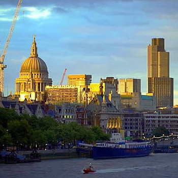 Central London Skyline