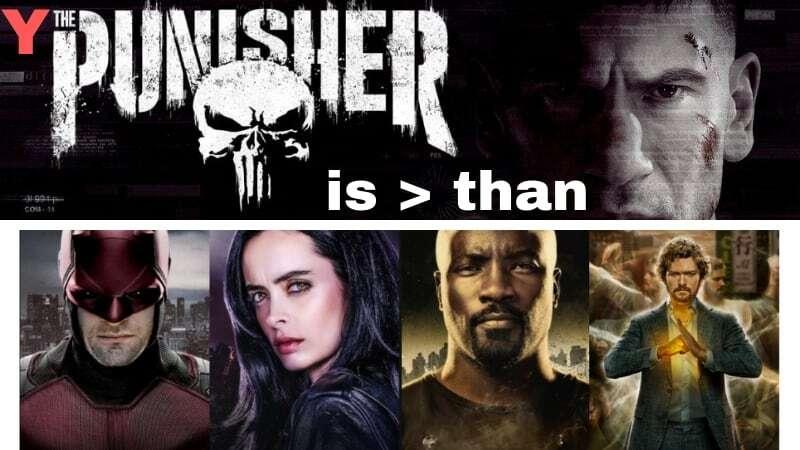 The Punisher over Defenders header image
