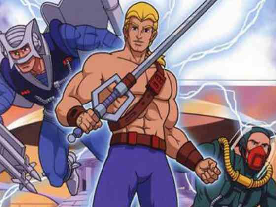 DVD cover image of awful 90s Adventures of He-Man show